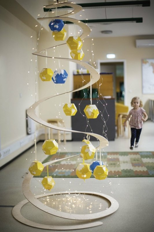 Christmas tree at Regio office. Photo: Hanna Maran.