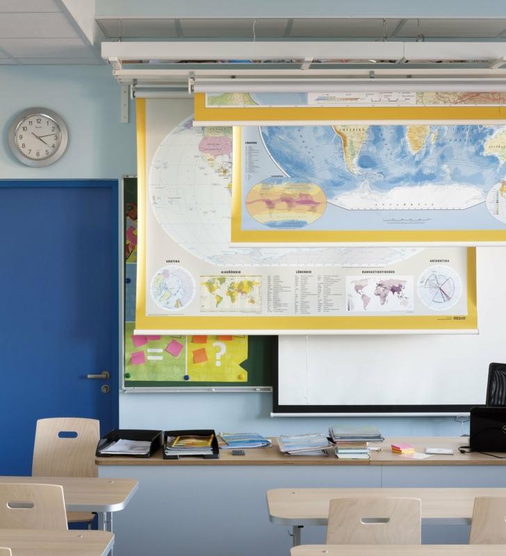 Blind system at Kadrioru Saksa school. Photo: Toomas Tuul